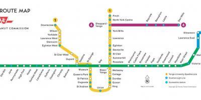 Toronto Map Karten In Toronto Kanada